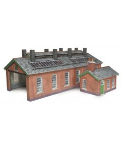 METCALFE PO313 00/H0 Scale Double Track Engine Shed