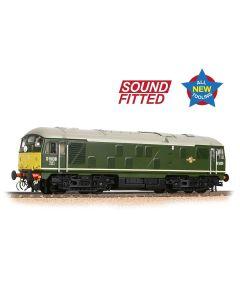 Bachmann 32-415SF Class 24/0 D5036 Disc Headcode BR Green (Small Yellow Panels)