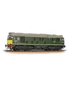 Bachmann 32-441 Class 24/1 D5149 BR Green, Small Yellow Panels