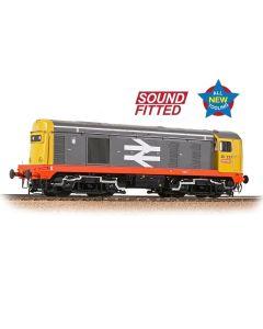 Bachmann 35-357SF Class 20 227 BR Railfreight Red Stripe (DCC Sound)