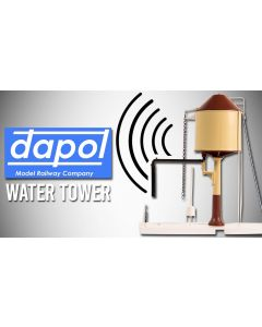Dapol 4A-002-002 GWR Water Tower (Conical Top) Chocolate/Cream Motorised
