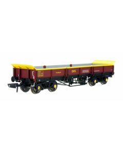 Dapol 4F-043-007 Turbot Bogie Ballast Wagon EWS (Banded) 978279
