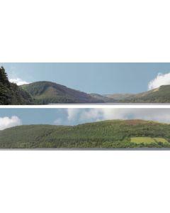 "Art Printers 95278 idBackscene 201A Forest Hills OO Gauge 15"" High"
