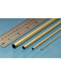 Albion Alloys MBT09 Micro Brass Micro Tube 0.9mm x 0.7mm i.d. x 305mm