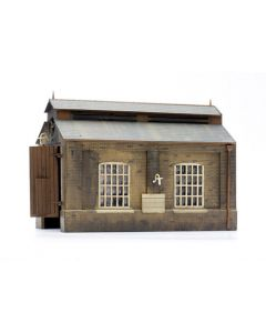 Dapol C007 Engine Shed Plastic Kit OO Scale