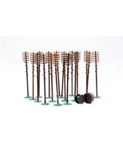 Dapol C024 Telegraph Poles Kit OO Scale