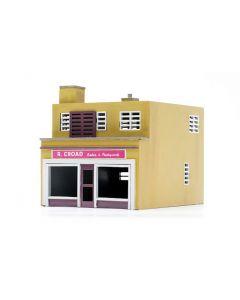Dapol C031 Shop & Flat Kit OO Scale
