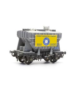 Dapol C040 Presflo Cement Wagon Kit OO Scale