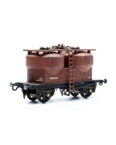 Dapol C043 Twin Silo Wagon Kit OO Scale