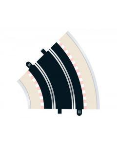 Scalextric C8206 Radius 2 Curve 45° x2