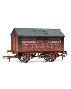 Dapol 4F-017-006 Lime Wagon Richard Briggs No.189 Weathered