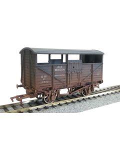 Dapol 4F-020-012 Ale Wagon GWR 38622 Weathered