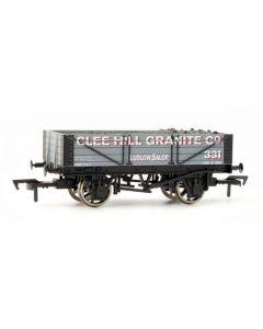 Dapol 4F-040-003 4 Plank Wagon Clee Hill Granite