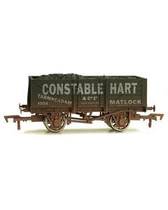 Dapol 4F-051-022 5 Plank Wagon Constable Hart Weathered