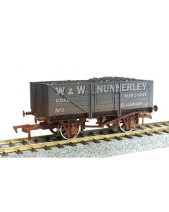 Dapol 4F-051-028 5 Plank Wagon Nunnerley Weathered