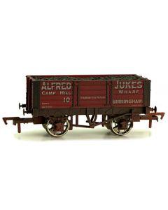 Dapol 4F-052-016 5 Plank Wagon Alfred Jukes Weathered