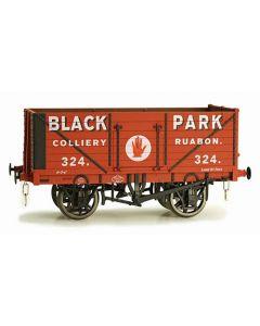 Dapol 7F-071-022 7 Plank Wagon Black Park Ruabon