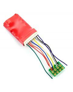 Gaugemaster DCC94 Ruby Series 6fn Pro DCC Decoder 8 Pin