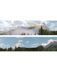 """Art Printers 260B Rockies OO Gauge 15"""""""