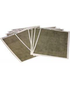 METCALFE M0051 00/H0 Cobblestone Sheets