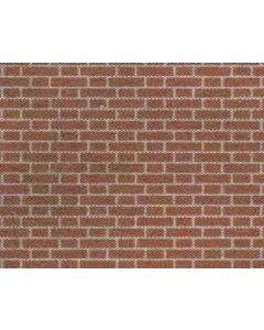 METCALFE M0054 00/H0 Red Brick Sheets