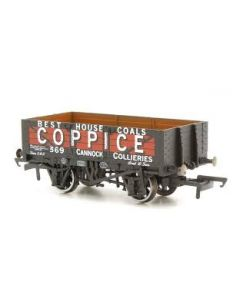 Oxford Rail OR76MW5003 5 Plank Wagon Coppice Cannock Chase 369