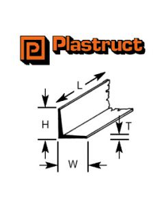 Plastruct 90508 PAFS-12 9.5mm ANGLE (4)