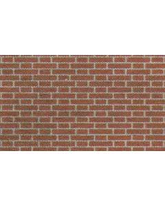 METCALFE MODELS PN100 N Red Brick Sheets