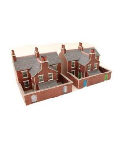 METCALFE MODELS PN103 Terraced Houses Red Brick