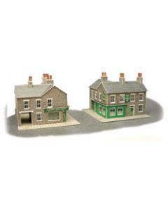 METCALFE MODELS PN117 Stone Corner Shop & Pub