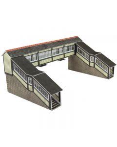 METCALFE MODELS PN136 N Scale Footbridge