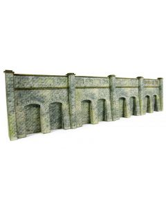 METCALFE MODELS PN144 N Scale Retaining Wall in Stone