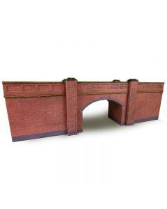 METCALFE PO246 OO/HO Gauge Railway Bridge in Red Brick