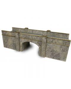 METCALFE MODELS PN147 N Scale Railway Bridge in Stone