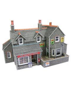METCALFE MODELS PN154 Village Shop and Cafe N Gauge