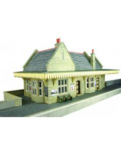 METCALFE PO238 00/H0 Stone Built Wayside Station