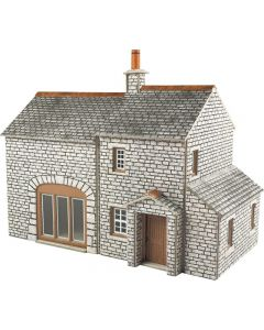 METCALFE PO259 00/H0 Scale Crofter's Cottage