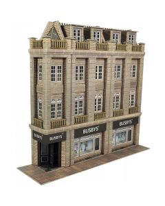 METCALFE PO279 00/H0 Low Relief Department Store