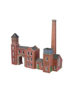 METCALFE PO284 00/H0 Boilerhouse & Factory Entrance