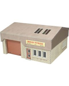 METCALFE PO285 00/H0 Scale Industrial Unit
