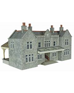 METCALFE PO320 00/H0 Scale Mainline Station Booking Hall