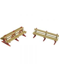 METCALFE PO502 00/H0 Scale Platform Benches