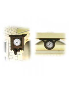 METCALFE PO515 00/H0 Station Clocks