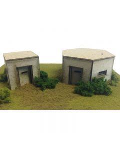 METCALFE PO520 00/H0 Scale Type 22 & Type 26 Pillbox