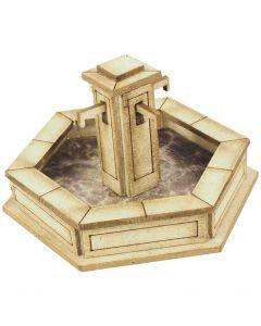METCALFE MODELS PO522 00/H0 Scale Stone Fountain