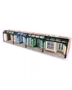 METCALFE PO572 00/H0 Arcade Shop Front