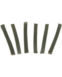 Scalextric Replacement Pickup Braids, pack of 6