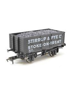 THG001 Dapol Special Commission 7 Plank Wagon 'Stirrup & Pye' OO gauge