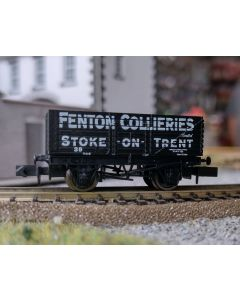 Dapol THG003N Special Commission 7 Plank Wagon 'Fenton Collieries'