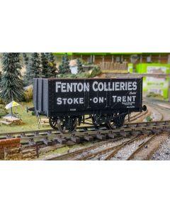 THG003O Dapol Special Commission 7 Plank Wagon 'Fenton Collieries' O gauge 7mm